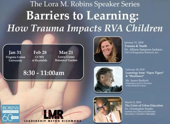 WTVR Contest - Chance To Win tickets to Lora M. Robins Speaker Series