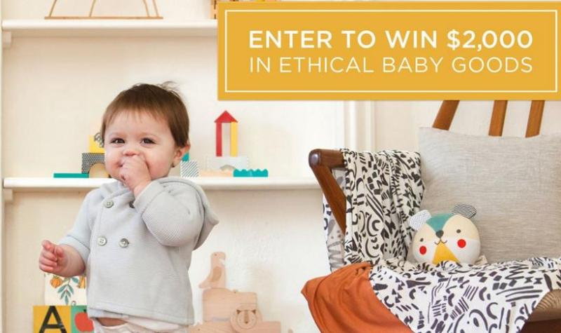 PetitCollage Ethical Baby Goods Sweepstakes - Enter For Chance To Win $2000 In Ethical Baby Goods