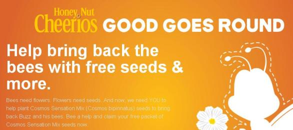 Costco Honey Nut Cheerios Bring Back the Bees Program Sweepstakes - Chance To Win A Garden Tote and Tool Kit Prize