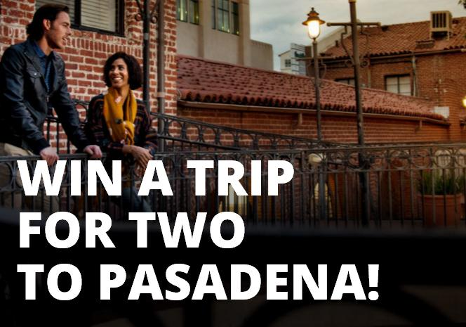 Pasadena Vacation Sweepstakes – Stand Chance to Win a Trip to Pasadena, $100 Shopping Credit, $30 Metro Tap Card