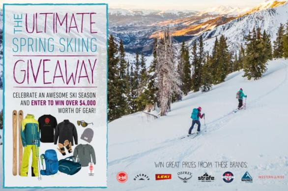 Wagner Skis Celebrate Ski Season Giveaway - Enter To Win $4000 Prize Package
