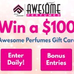 Awesome Perfumes $100 Gift Card Giveaway- Chance To Win A $100 Awesome Perfumes Gift Card