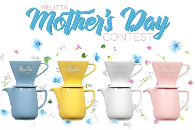 Melitta Mother's Day Sweepstakes-Chance To Win A Melitta Gift Box, Pour-Over Coffeemaker Porcelain Brew Serve Carafe set