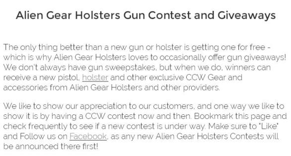 Alien Gear Holsters Rain or Shine VP9 Contest – Stand Chance to Win A Brand New H&K VP9, Cloak Mag Carrier, Gun Cleaning Kit, Otis Ripcord, Otis Trucker Cap And Bigfoot Gun Belt