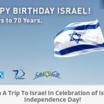 EL AL USA Matmid 70th Anniversary of Israel Contest – Stand Chance to Win Roundtrip Economy Class Tickets Plus A 5-Night Hotel Stay At A Leonardo Fattal Hotel