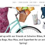 Erin Baker's Cruisin' Into Spring Giveaway – Stand Chance to Win Erin Baker's Goodie Box, Schwinn Bike and Helmet, Nuu Muu Clothing, Bag, Shoes and More Prizes