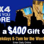 Four Gives You More Contest – Stand Chance to Win A $400 American Express Gift Card