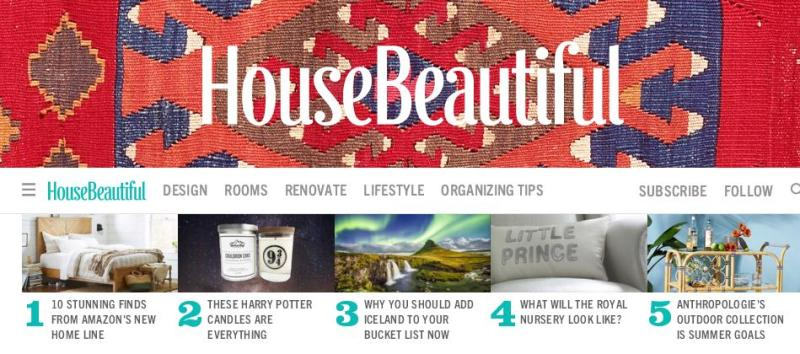 House Beautiful Perigold Sweepstakes – Stand Chance To Win A $3,000 Gift Card To Shop