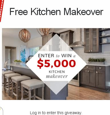 Kitchen Cabinet Kings Kitchen Makeover Sweepstakes – Stand Chance to Win A Free Set Of Kitchen Cabinets Valued Up To $5,000