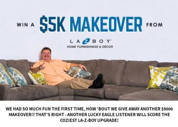 La-Z-Boy Design & Recline Room Makeover Sweepstakes
