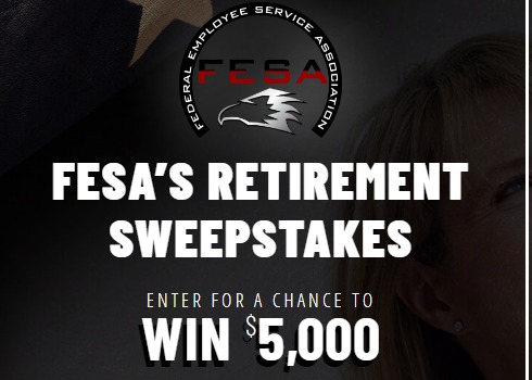 FESA's Retirement Sweepstakes-Stand A Chance To Win $5,000