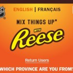Reese's Mix Things Up With Reese Contest-Enter To Win Two TVs, $25.00 Gift Codes, $2 Hershey Canada Product Coupons