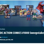 DC Action Comics #1000 Sweepstakes-Chance To Win Superman Themed Action Figures, Statues, Justice League movie on Blu-ray