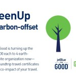 The JetBlue GreenUp Sweepstakes- Chance To Win Carbon-Offset Flights For 2 Two Round Trip JetBlue Travel Certificates