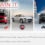 FCA Canada 2018 See It, Want It, Win It Contest – Stand Chance to Win Voucher Worth Up To $40,000