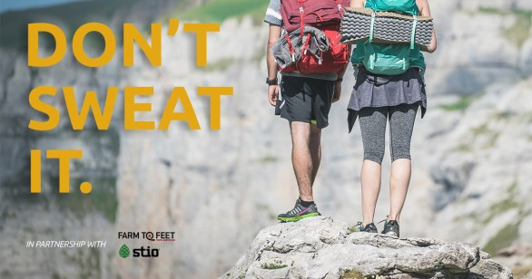 Nikwax Don't Sweat It Giveaway - Chance To Win Baselayer-Themed Gear & Swag From Stio, Farm To Feet Socks