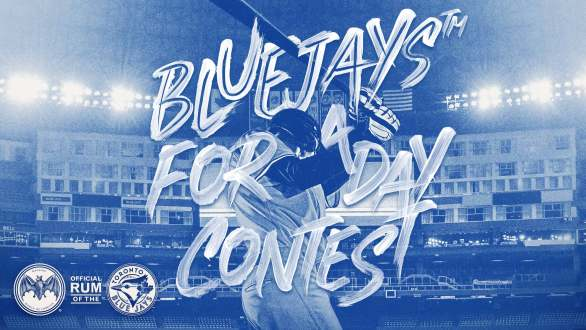 Bacardi Blue Jays for a Day Contest - Enter To Win A Trip To Toronto, Game Tickets