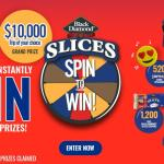 Black Diamond Cheese Slices Spin to Win Contest – Stand Chance To Win $10,000 CAD Travel Voucher , $25 Prepaid Gift Cards, $25 Gas Cards, 1,200 Coupons, Bag, Audio Speaker and Headphones