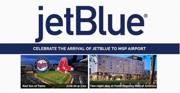 Bloomington CVB JetBlue Flight Celebration Giveaway - Chance To Win Flight Travel Certificates, Trip, Tickets