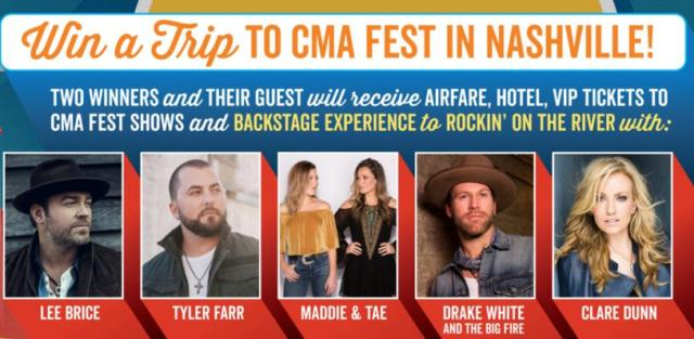 Cracker Barrel Rock With Us Sweepstakes – Stand Chance To Win A Trip To CMA Fest In Nashville