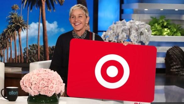 Ellen Target Gift Card Giveaway