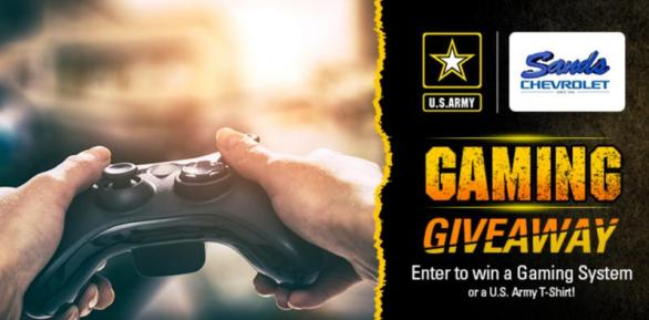 The Gaming Giveaway Sweepstakes – Stand Chance To Win An Xbox One X Gaming Console And A US Army T-Shirt