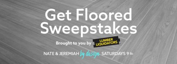 TLC Get Floored Sweepstakes – Stand Chance To Win $5,000 Gift Card In Flooring At Lumber Liquidators