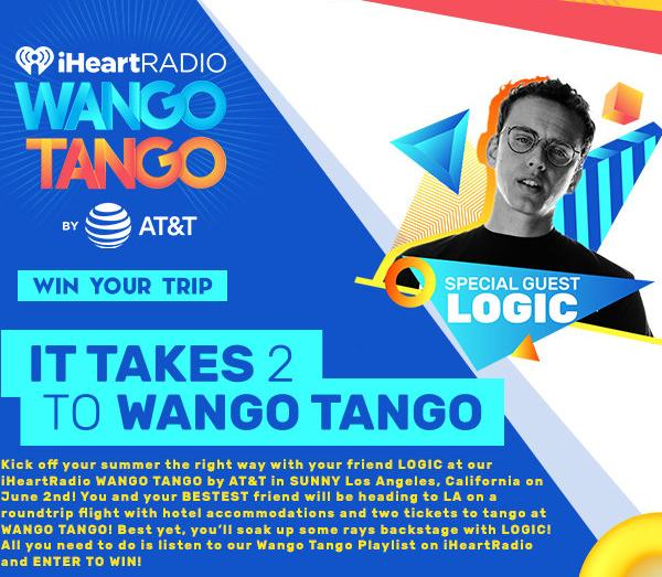 Logic It Takes 2 To Wango Tango Sweepstakes – Stand Chance To Win A Trip To Los Angeles