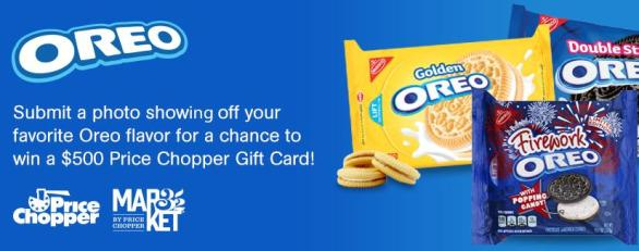 Price Chopper Oreo Favorite Flavors Sweepstakes – Chance To Win $500 Price Chopper Gift Cards