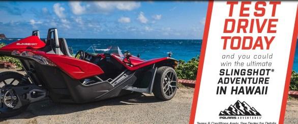 Polaris Adventures Hawaii Sweepstakes - Enter To Win A $4,000 Gift Card, Trip