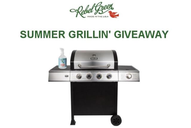 The Rebel Green Summer Grillin' Giveaway – Stand Chance To Win Dyna-Glo 4-Burner, Rebel Green Fruit & Veggie Clean
