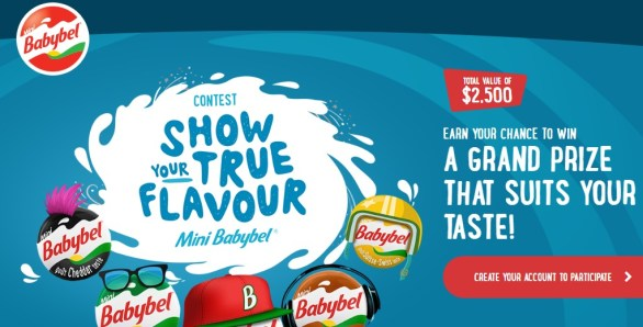 Mini Babybel Show Your True Flavour Contest-Chance To Win $2500 Grand Prize, $500 Gift Card, Au Audio System