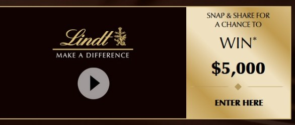 Lindt Make a Difference Contest 2018 - Stand A Chance To Win Grand Prize $5000