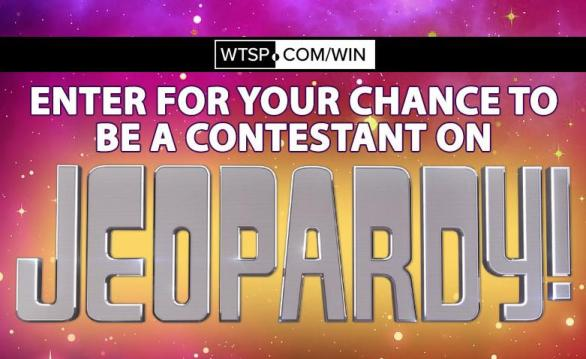 WTSP Fast Pass Sweepstakes – Stand Chance to Win A Live Audition To Be A Contestant On Jeopardy