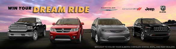 Win With Dodge Contest-Stand A Chance To Win Jeep, RAM, Chrysler