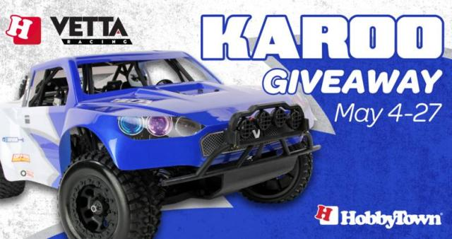HobbyTown Vetta Karoo RC Desert Truck Giveaway – Stand Chance To Win A Vetta Karoo Short Course RC Truck