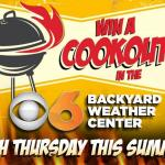 CBS 6 Backyard Weather Center Contest – Stand Chance To Win A Cookout In The CBS 6 Backyard Weather Center