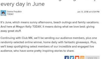 Today com Club Megyn Kelly Sweepstakes-Win SkinOwl Skincare