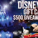 Disney Gift Card Giveaway – Stand Chance To Win $500 Disney Gift Card