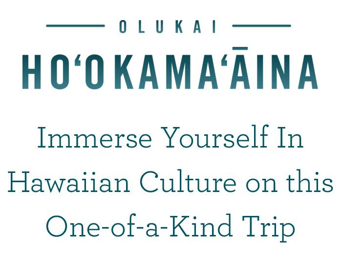 OluKai Ho'okama'āina Experience Sweepstakes – Win Trip To Oahu, Hawaii
