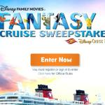 Disney Family Movies' Fantasy Cruise Sweepstakes – Stand Chance To Win Ultimate Cruise Vacation