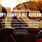 Duraflame Happy Camper Kit Giveaway – Chance To Win Roasting Logs, Tent, Headlamps, Waterproof Playing Cards, Roaster, Gift Card