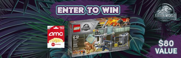 WeZift Jurassic World Giveaway - Enter To Win LEGO Set And Gift Card