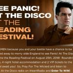 See Panic At The Disco At The Reading Festival Sweepstakes – Stand Chance To Win VIP Tickets To The Reading Festival