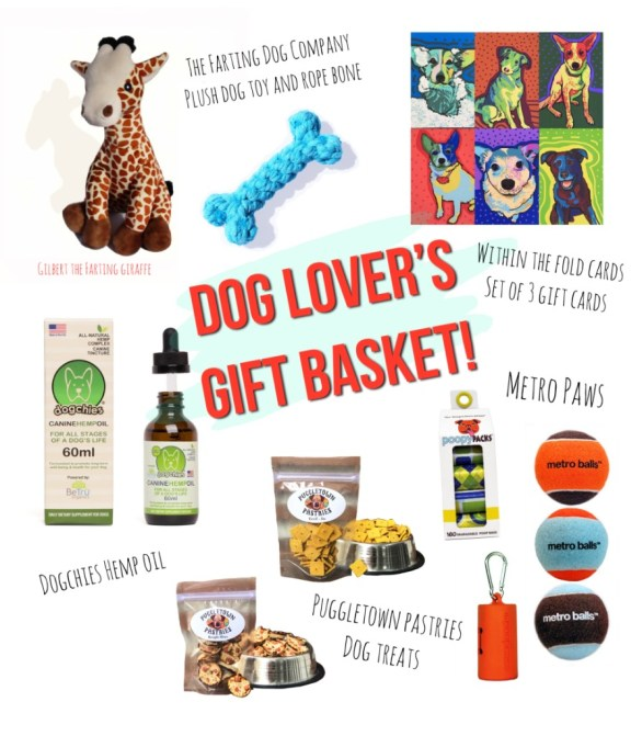 Dog Lover's Gift Basket Giveaway - Chance To Win Gift Card, Set of Poopy Packs, Dogchies Hemp Extract Oil