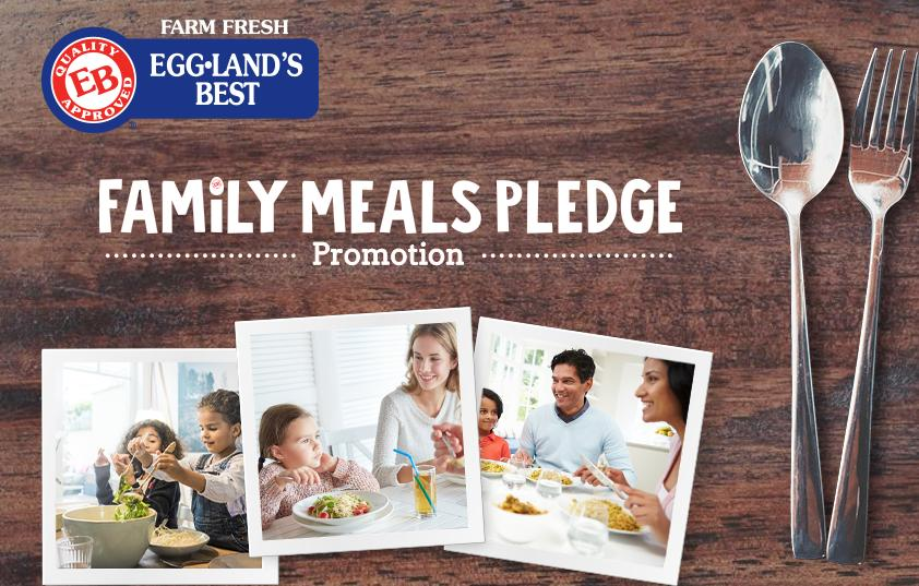 The Eggland's Best Family Meals Pledge Promotion – Win A Cookware Package