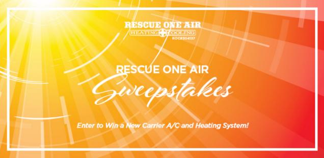 The Rescue One Air Sweepstakes – Stand Chance To Win A Brand New Air Conditioner