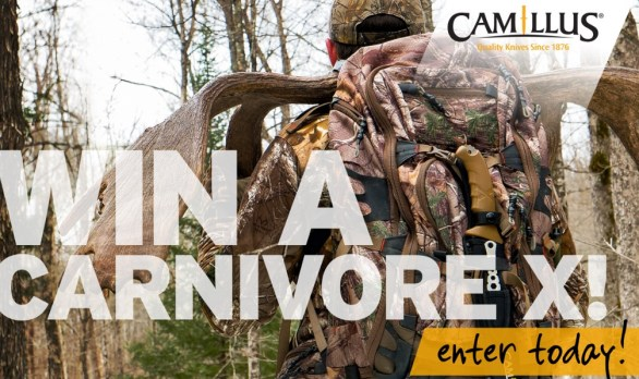Camillus Conquer Your World Carnivore X Giveaway - Chance To Win Camillus Carnivore X