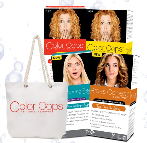 Color Oops Hair Color Remover Giveaway