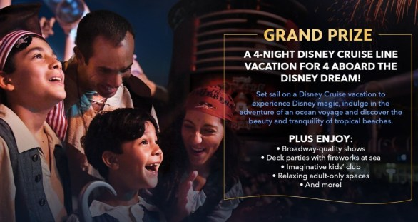 Disney Junior Magic At Sea Sweepstakes - Enter To Win Vacation to the Bahamas